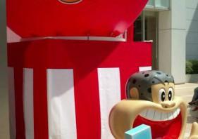 ガリガリ君。パルコにて。アイス販売あり